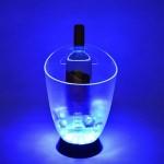 Custom Engraved LED Ice Bucket w/Handle Hole