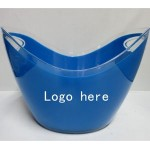 Personalized 3.5 L Plastic Ice Bucket