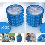 Custom Imprinted Silicone Ice Bucket