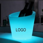 Personalized Rechargeable LED Large Ice Buckets
