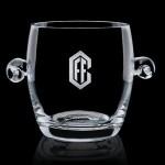 """Personalized Belfast Ice Bucket - 6"""" Crystalline"""