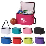 Insulated 6-Can Cooler Bag Custom Printed