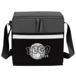 Two-Tone Accent 12-Pack Cooler Custom Imprinted