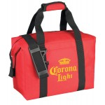Logo Branded 24 Can 600Denier Polyester Picnic Cooler Tote Bag