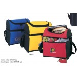 Round Top Lunch Pack Cooler Custom Printed
