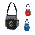Logo Branded 2-tone picnic Insulated lunch bag