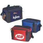 Custom Printed Deluxe 12 Pack Polyester Cooler Lunch Bag