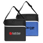 Custom Imprinted Insulated Large 12 Can Cooler Bag