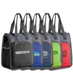 Custom Printed Poly Lunch Cooler Tote Bag