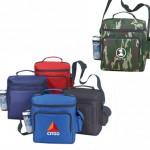 Polyester Insulated Picnic Cooler Custom Imprinted