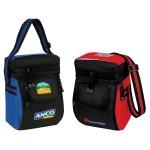 "U-shape Front Pocket 12 Pack Picnic Cooler (8.5""x12""x6"") Custom Imprinted"