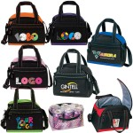 "Logo Branded Dome 6-Pack Cooler w/ Heat Sealed Removable PVC Lining (8-1/2""x7-1/""x5-3/4"")"