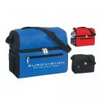 Poly Insulated Compartments Cooler Bag Custom Imprinted