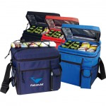 Custom Printed 24-Pack Cooler w/ Easy Top Access & Cell Phone Pocket