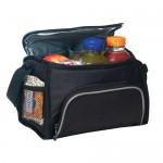 Polyester 6 Pack Cooler Lunch Bag Custom Imprinted