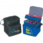 Deluxe Poly Cooler w/ Piggyback Lunch Bag Custom Printed
