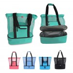 Logo Branded 2 in 1 Beach Bag with Cooler