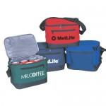 Ttuch 6 Pack 600D Polyester Cooler Lunch Bag Custom Imprinted