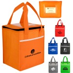 Custom Imprinted Rectangle Wave Lunch Tote