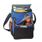 Deluxe Polyester Insulated Cooler Bag Lunch Bag Custom Printed
