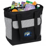 Double Compartment Cooler Tote Logo Branded