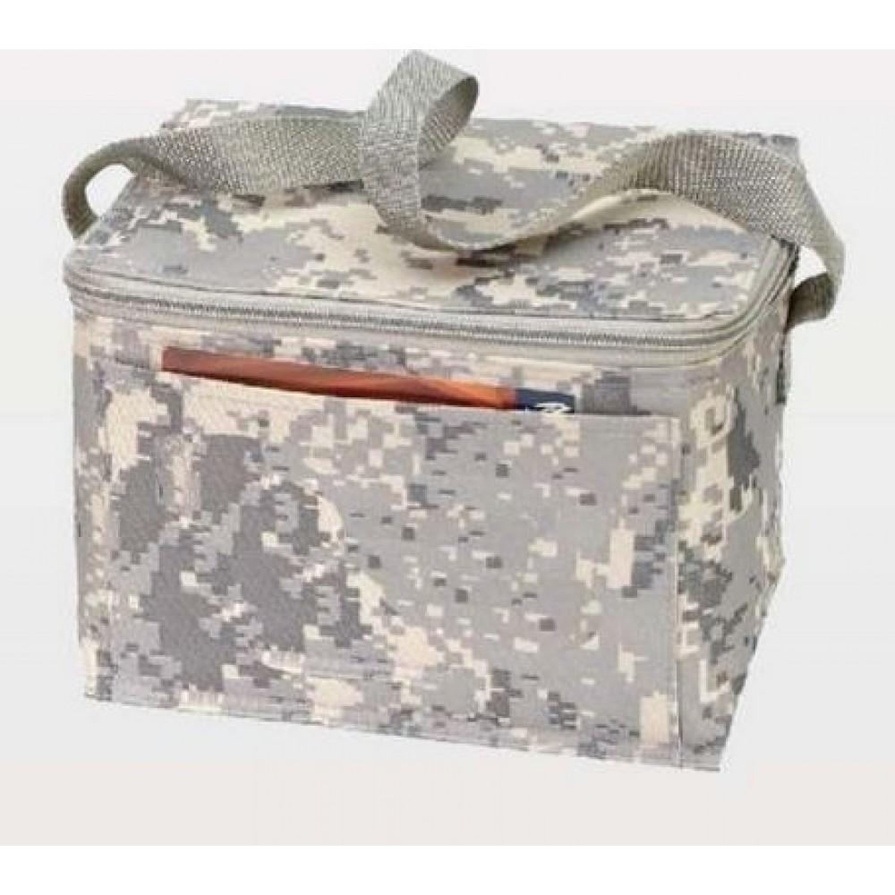 6 Pack Digital Camouflage Cooler 8 1 2