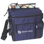 Small Picnic Cooler - mini cooler bag - navy blue cooler bag Custom Printed