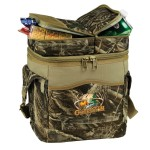 Ultimate Realtree MAX-5 Camo 20 Can Cooler Logo Branded