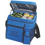 Logo Branded Small Picnic Cooler - mini cooler bag - blue cooler bag