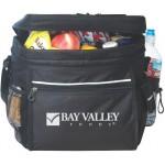 Picnic Cooler Bag, black cooler bag Custom Printed