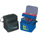 Deluxe Polyester Cooler w/ Lunch Bag Logo Branded