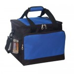 36 Pack Polyester Insulated Cooler Bag Custom Printed