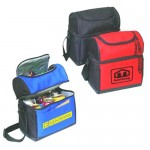 Double Compartment Cooler Lunch Bag Logo Branded