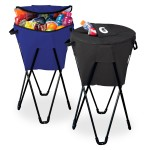 Custom Imprinted Insulated Beverage Cooler Tub with Stand