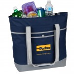 Custom Printed Jumbo 24 Can Can Cooler Tote Bag