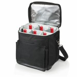 Cellar Insulated Wine Tote Cooler w/Removable Divider Custom Imprinted