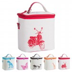 Logo Branded Cotton Cooler Insulated Lunch Bag
