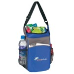 Custom Imprinted Two-Tone Picnic Insulated Cooler Lunch Bag