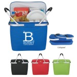 Logo Branded Picnic Fun Collapsible Cooler Basket