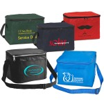 Logo Branded 420D Heavy Duty 6 Can Cooler Bag