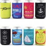 12OZ Full Color Sublimation Foam Can Coozie Custom Printed