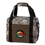 Logo Branded RealTree XTRA Camo Flex 16 Can Cooler
