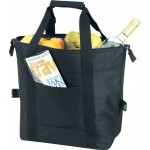 Custom Imprinted Insulated Picnic Cooler Tote Bag w/ Wrapped Handles