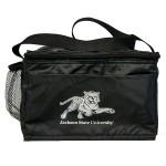 Logo Branded Striped Cooler Bag
