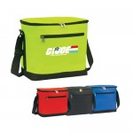 Poly Zipper Insulated Lunch Bag Logo Branded