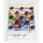 Custom Imprinted Be Smart, Say No To Strangers Coloring Book Fun Pack