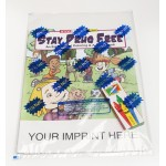 Logo Branded Stay Drug Free Coloring Book Fun Pack