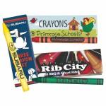 Custom Crayons 3 Pack Logo Branded