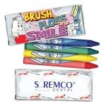 4 Pack Dental Theme Crayons Custom Imprinted