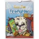 Combo Pack - Fun Mask Coloring Book & 4-Pack of Crayons in a Poly Bag Custom Imprinted